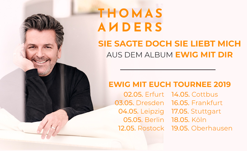 Thomas Anders Tour 2019