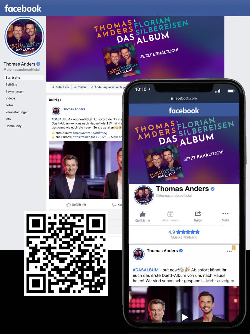 Thomas Anders - News on facebook
